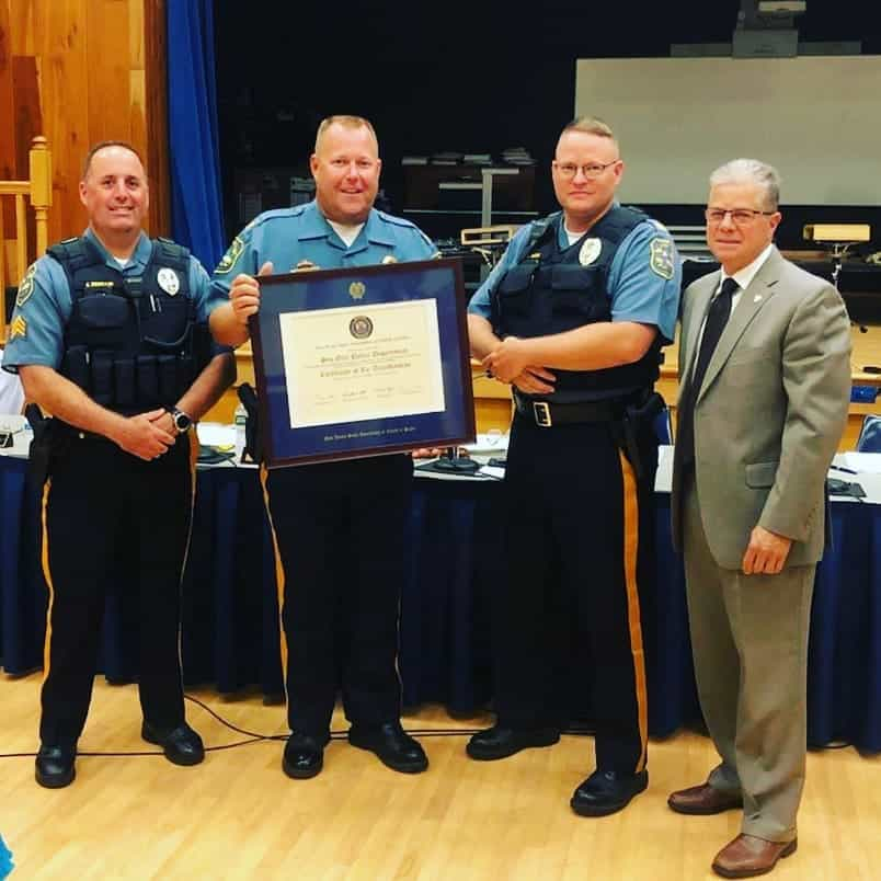 Re-Accreditation Award - SGPD